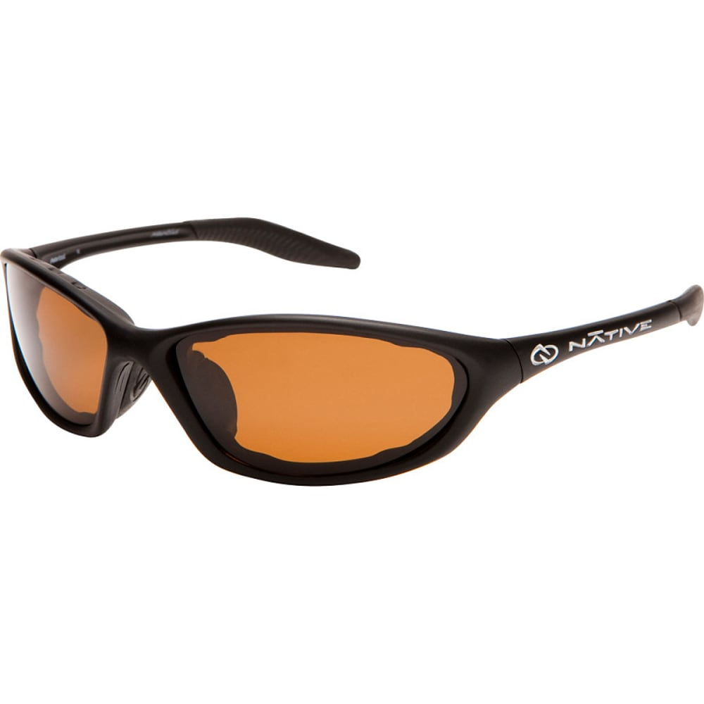 NATIVE EYEWEAR Silencer Sunglasses - Blk asphalt/brown