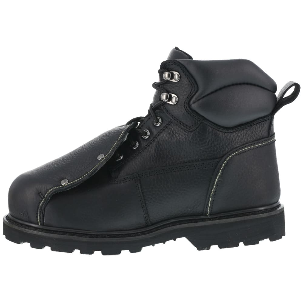 IRON AGE Men's Ground Breaker Work Boots, Wide - BLACK