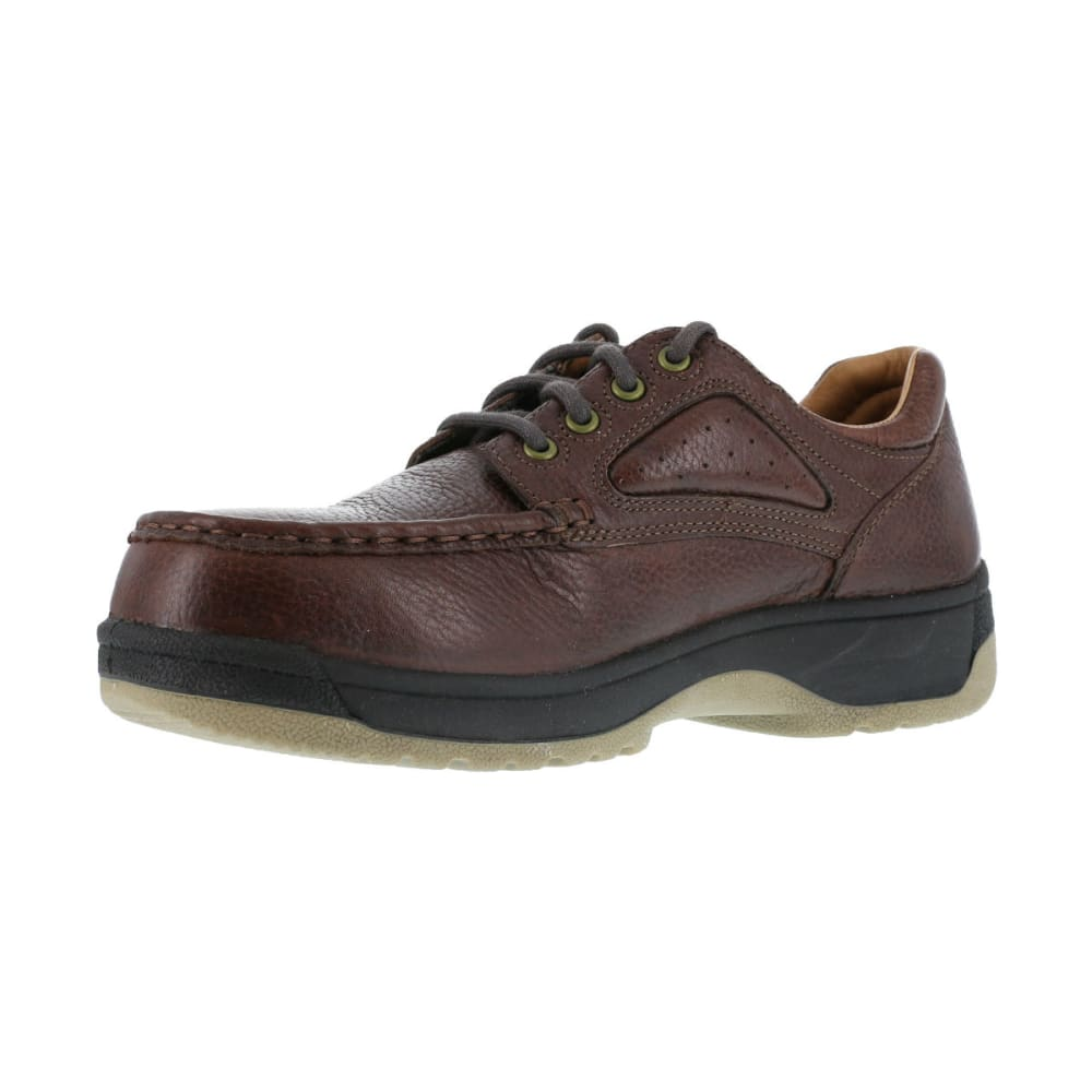 FLORSHEIM Men's Compadre Work Shoes, Wide - BROWN