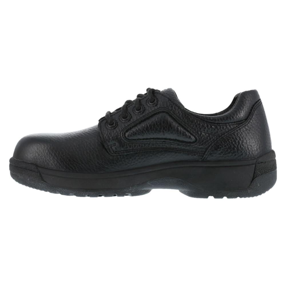 FLORSHEIM Men's Work Fiesta Shoes, Wide - BLACK