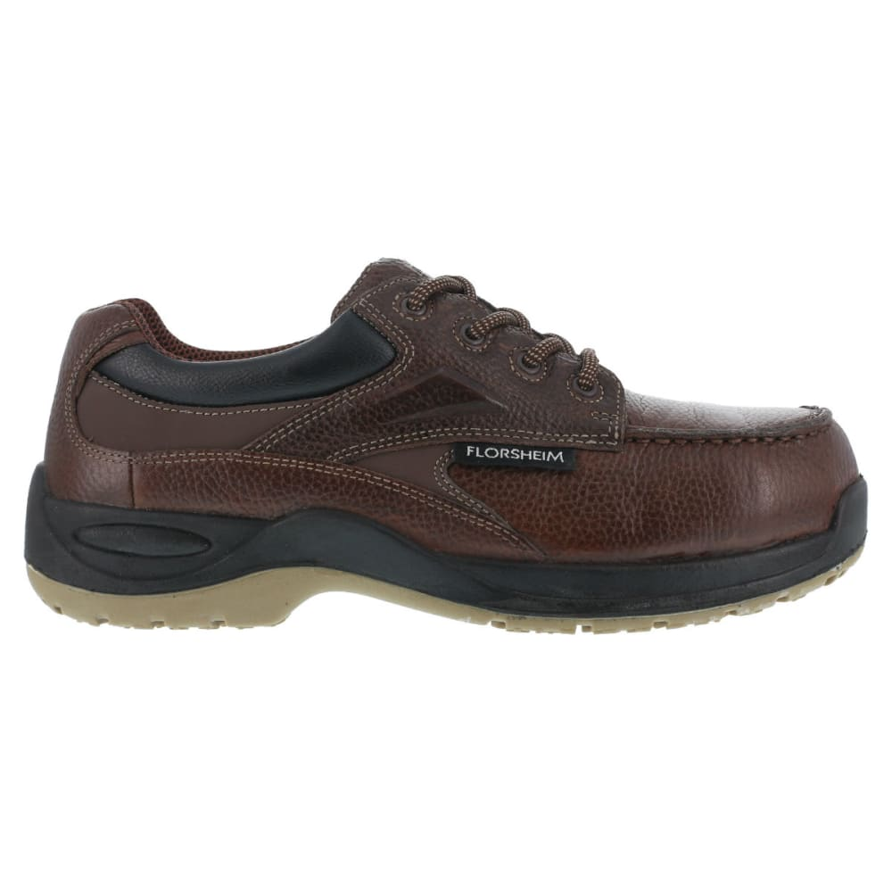 FLORSHEIM Men's Rambler Work Shoe - BROWN