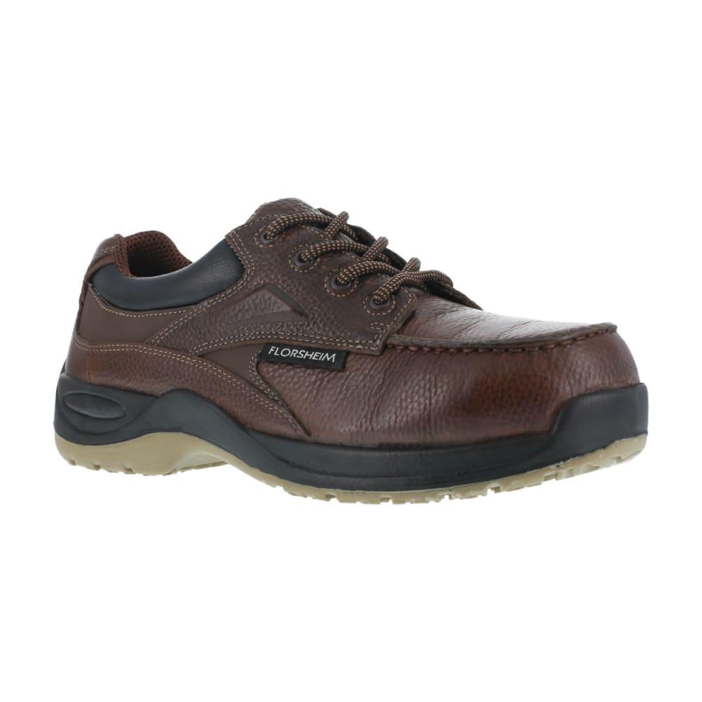 FLORSHEIM Men's Rambler Work Shoe, Wide - BROWN