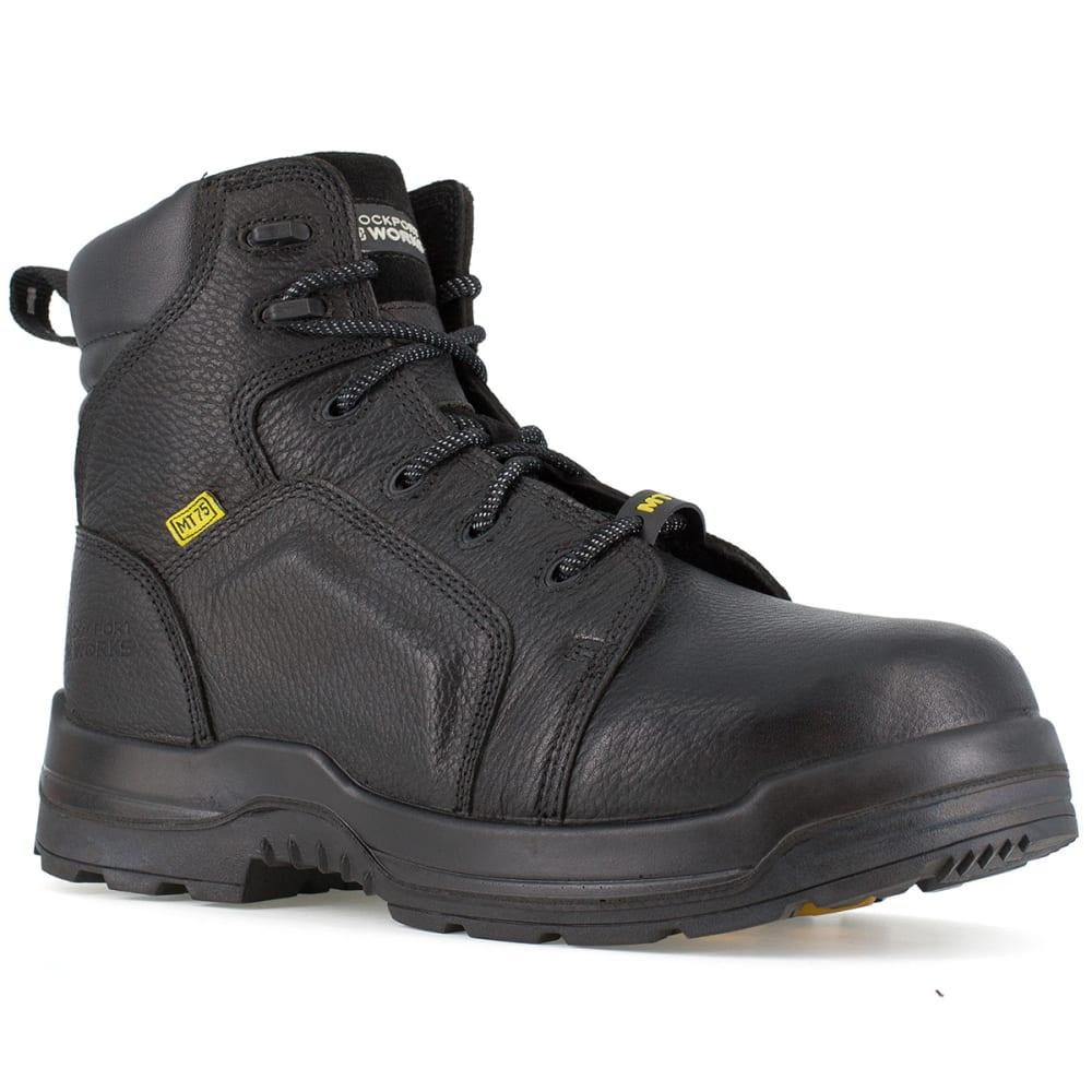ROCKPORT WORKS Men's More Energy Work Boots - BLACK