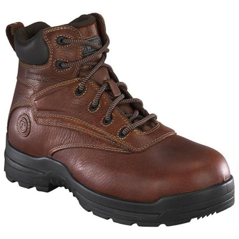 ROCKPORT WORKS Men's More Energy Work Boots - BROWN