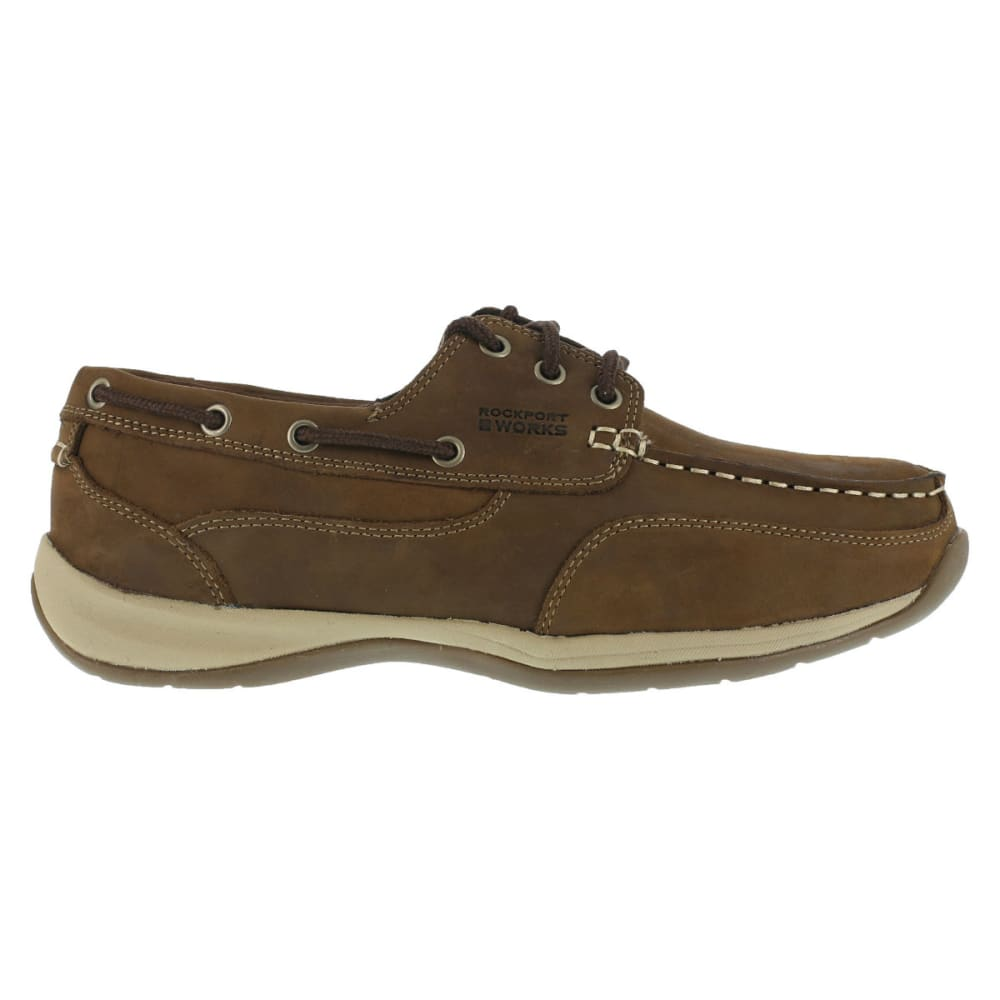 ROCKPORT Men's Sailing Club Shoes - BROWN