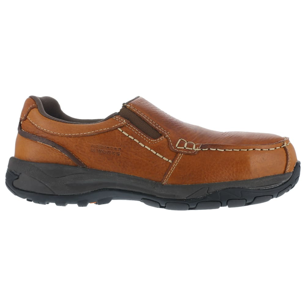 ROCKPORT WORKS Men's Extreme Light Shoes - BROWN