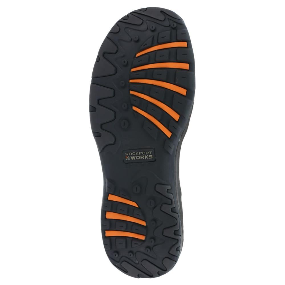 ROCKPORT WORKS Men's Extreme Light Shoes, Wide - BROWN