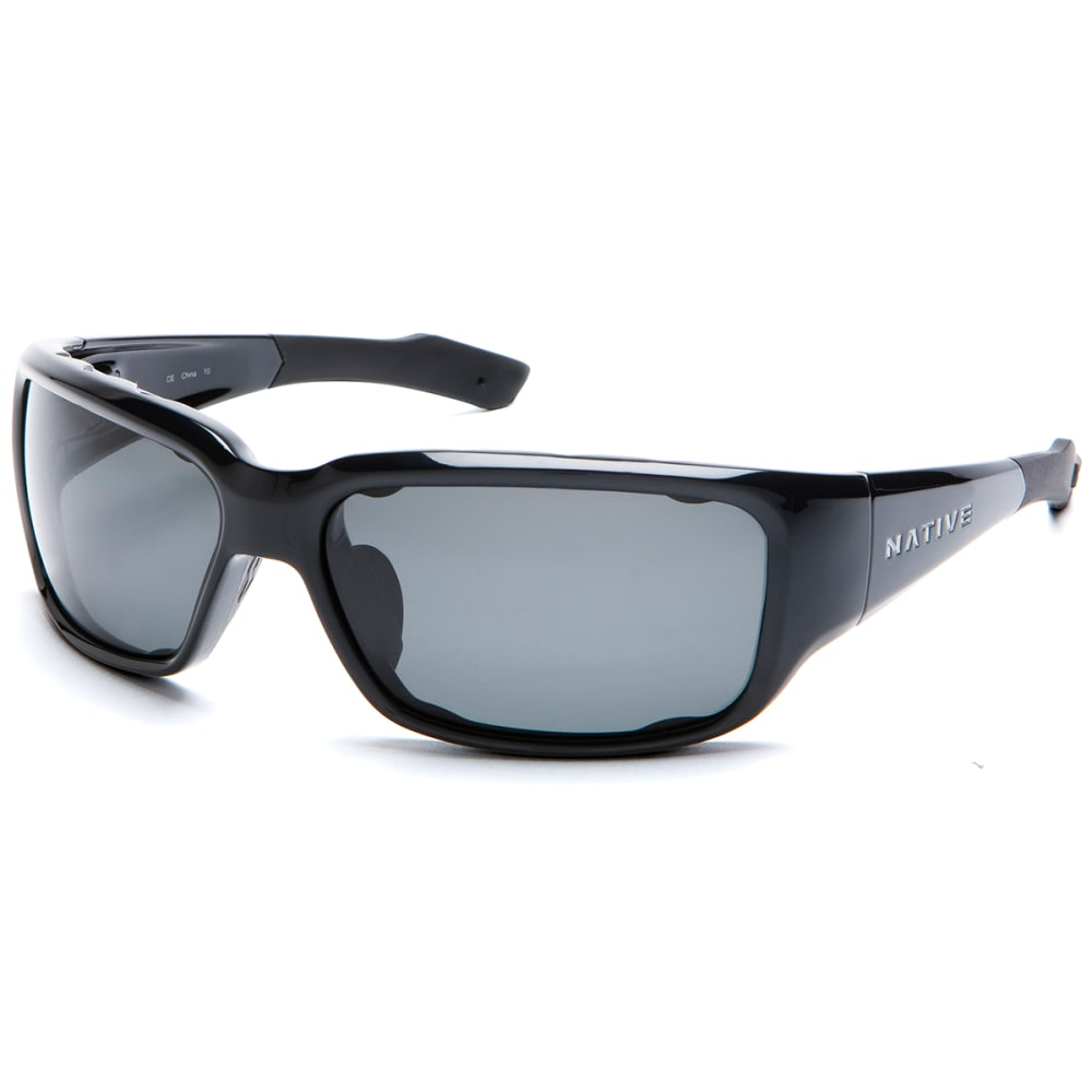 NATIVE EYEWEAR Bolder Sunglasses, Iron/Gray - IRON/GRAY