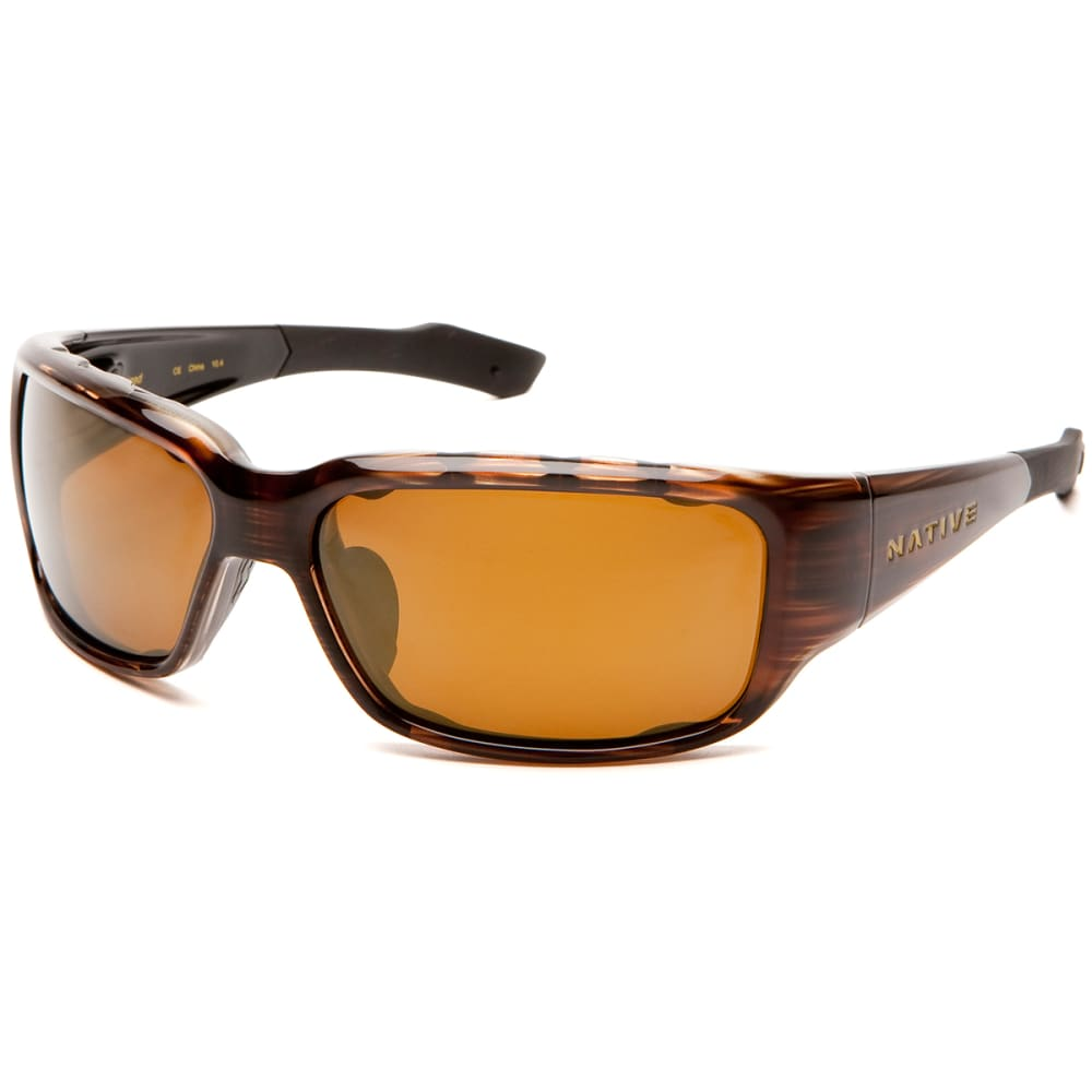 NATIVE EYEWEAR Bolder Sunglasses - WOOD/BRONZE