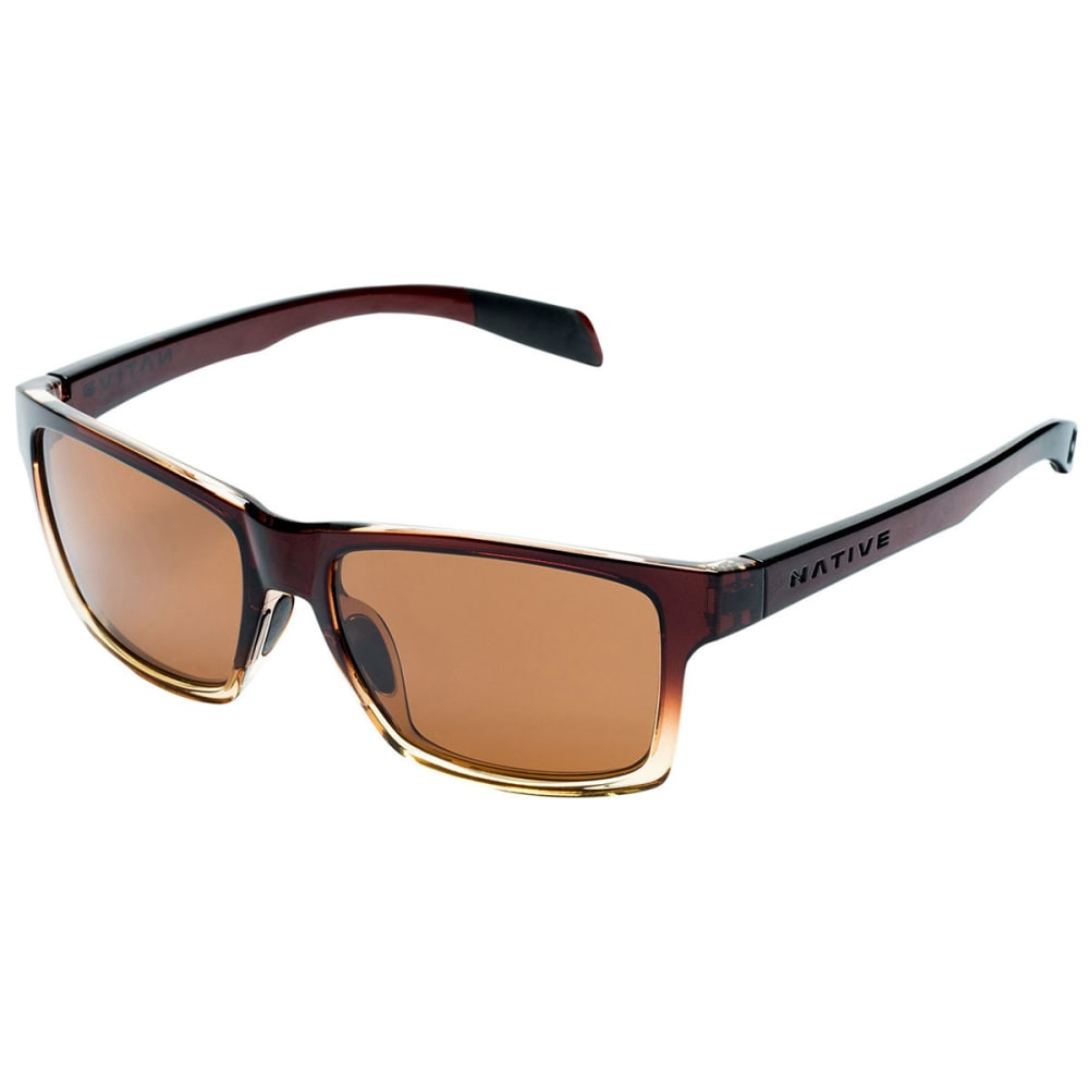 NATIVE EYEWEAR Flatirons™ Sunglasses - stout fade brown