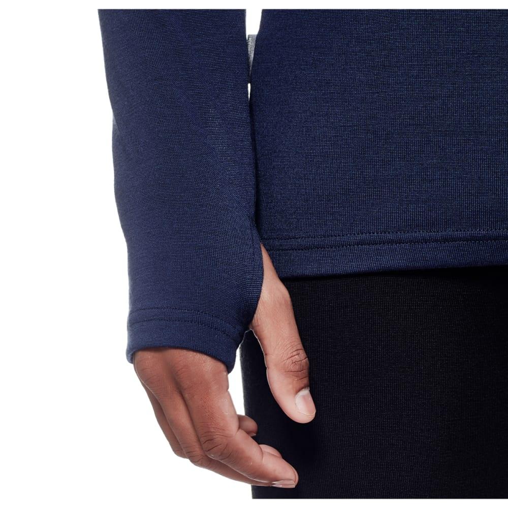 ICEBREAKER Men's Tech Top Long Sleeve Half Zip - ADMIRAL/ADML/PEL