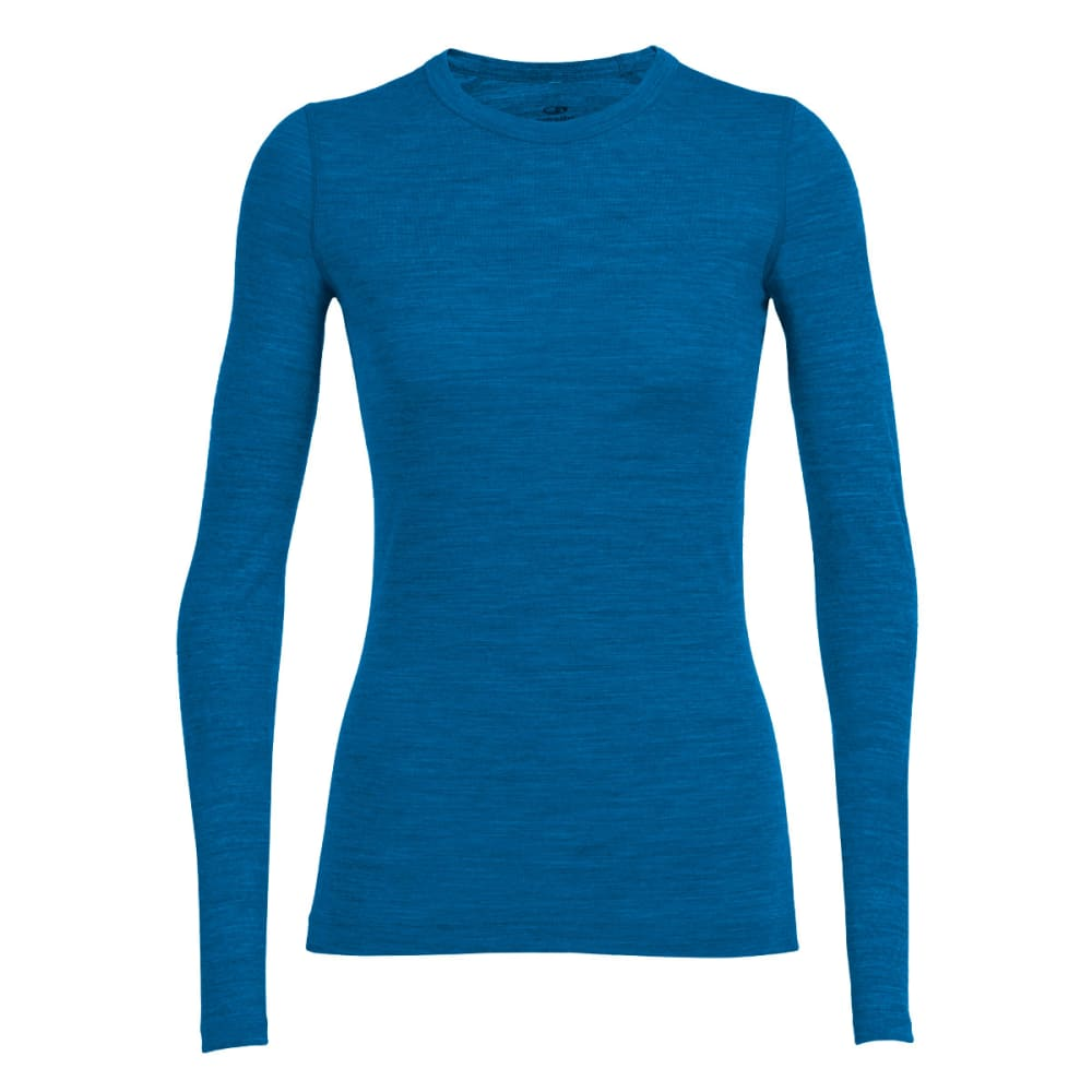 ICEBREAKER Women's Sprite Long Sleeve Crewe - ALPINE/ALPINE/ALPINE