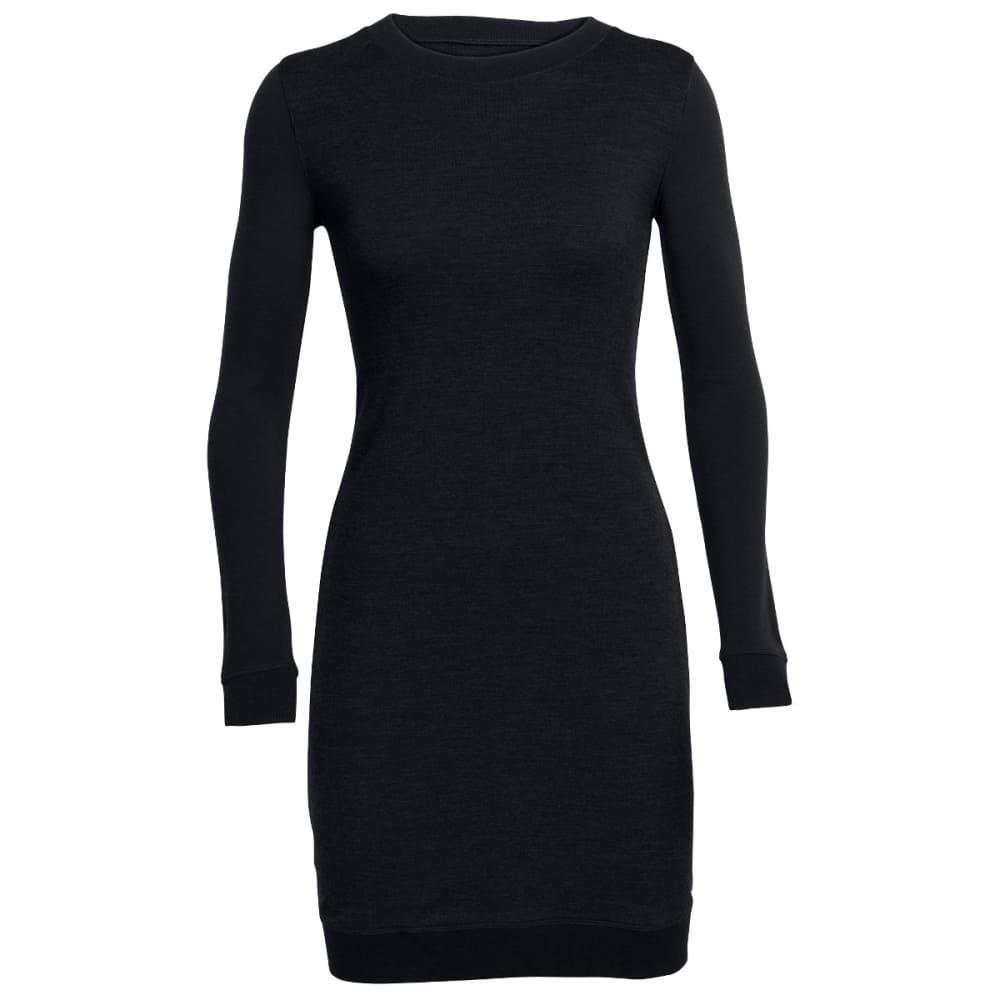 ICEBREAKER Women's Meadow Dress - BLACK/BLACK/BLACK