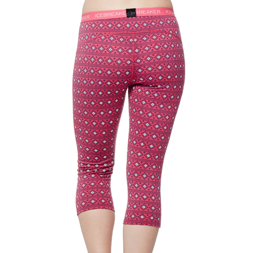 ICEBREAKER Women's Oasis Legless - PPINK/SNOW/PPINK