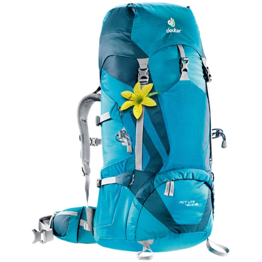 DEUTER Women's ACT Lite 45 + 10 SL Backpack - PETROL/ARCTIC