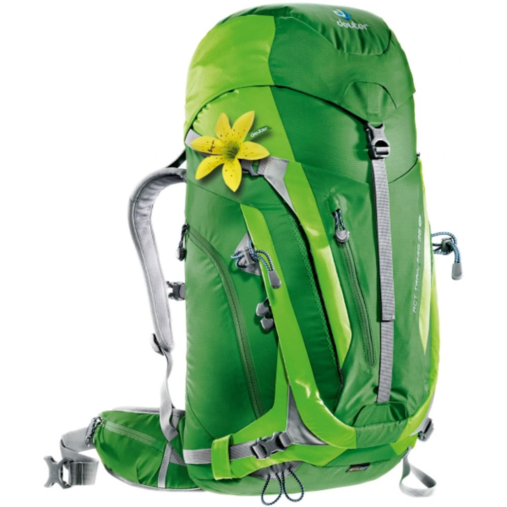 DEUTER Women's Act Trail Pro 38 SL Backpack - EMERALD/KIWI