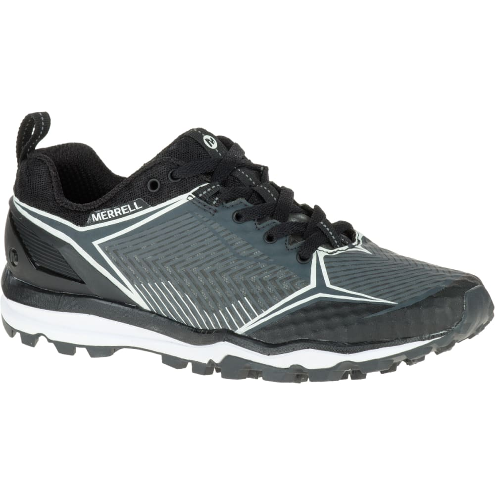 MERRELL Women's All Out Crush Shield Shoe, Black/Granite - BLACK/GRANITE
