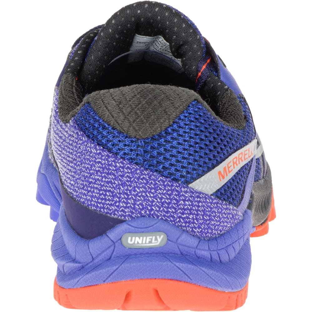 MERRELL Women's All Out Charge Running Shoe, Surf the Web - SURF THE WEB