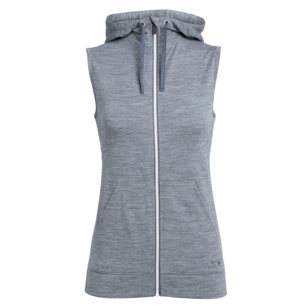 ICEBREAKER Women's Dia Vest - GRITSTONE HTHR