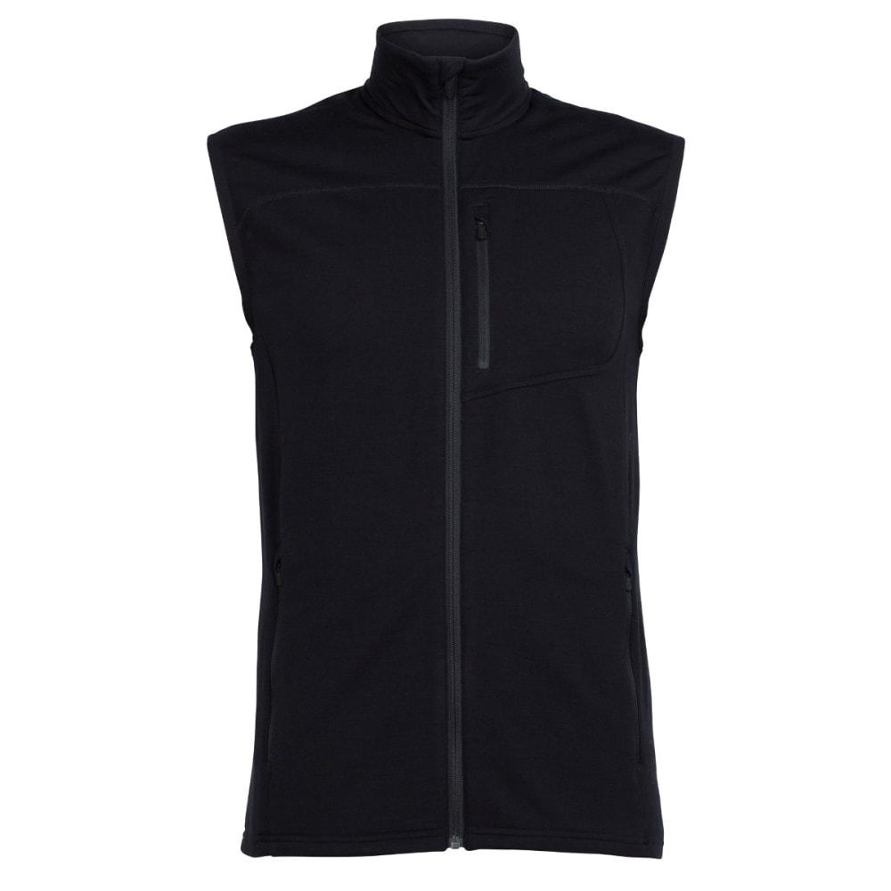 ICEBREAKER Men's Mt. Elliot Vest - BLACK/BLACK/BLACK
