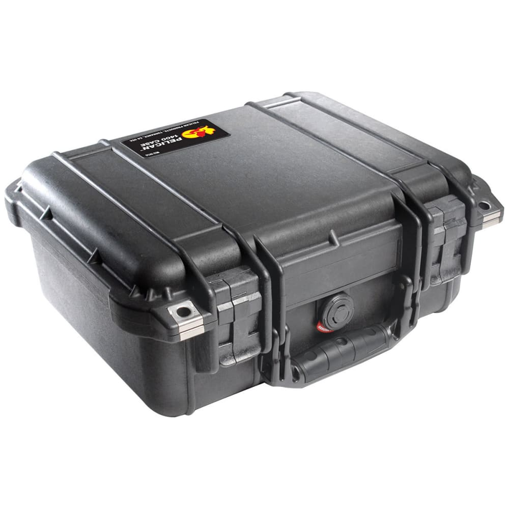 PELICAN 1400 Series Case - BLACK
