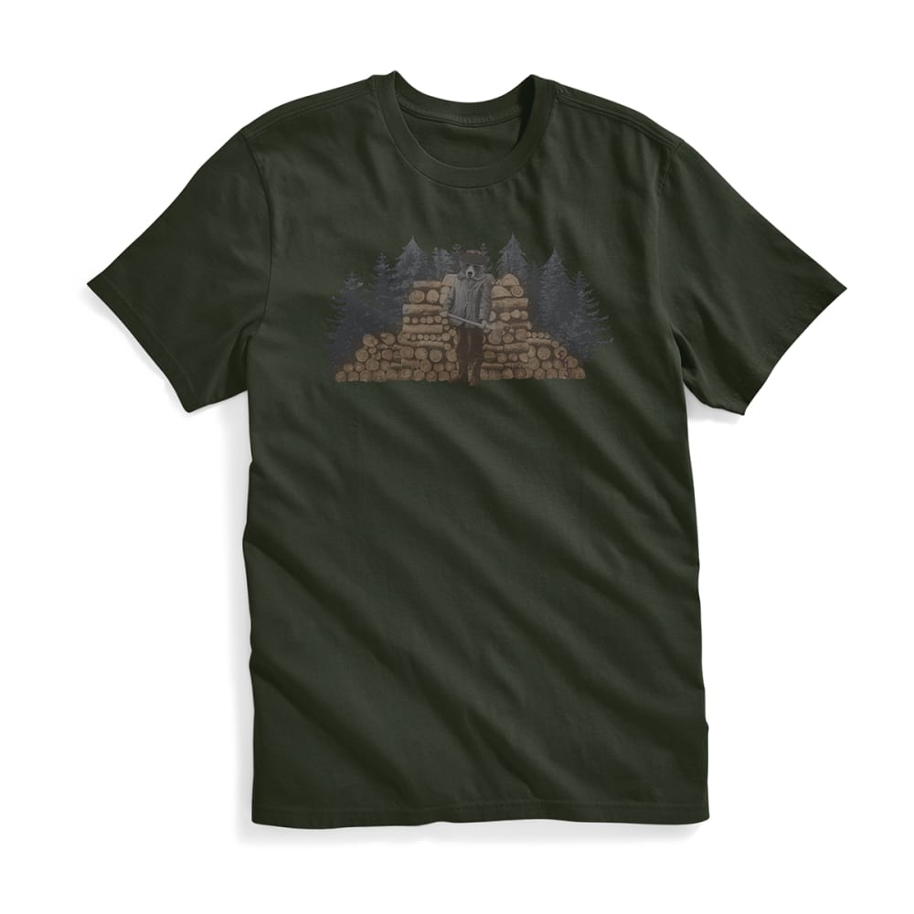 EMS Men's Lumberbear Jack Graphic Tee - DARKEST SPRUCE