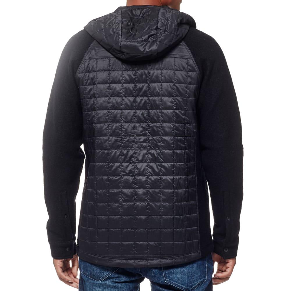ICEBREAKER Men's Departure Jacket - BLACK/M HTHR/STEALTH