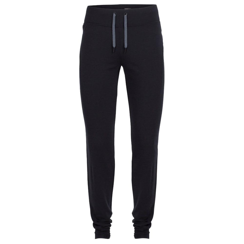 ICEBREAKER Women's Zoya Pants - BLACK/BLACK/BLACK