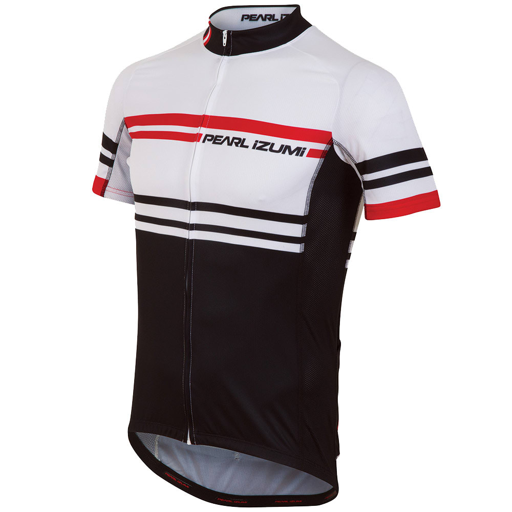 PEARL IZUMI Men's ELITE LTD Cycling Jersey - WHITE/BLACK