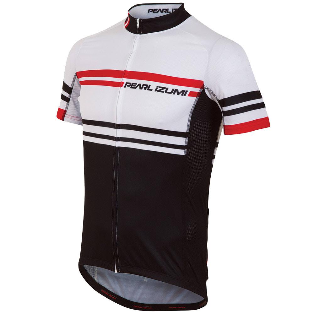 PEARL IZUMI Men's ELITE LTD Cycling Jersey - WHITE/BLACK