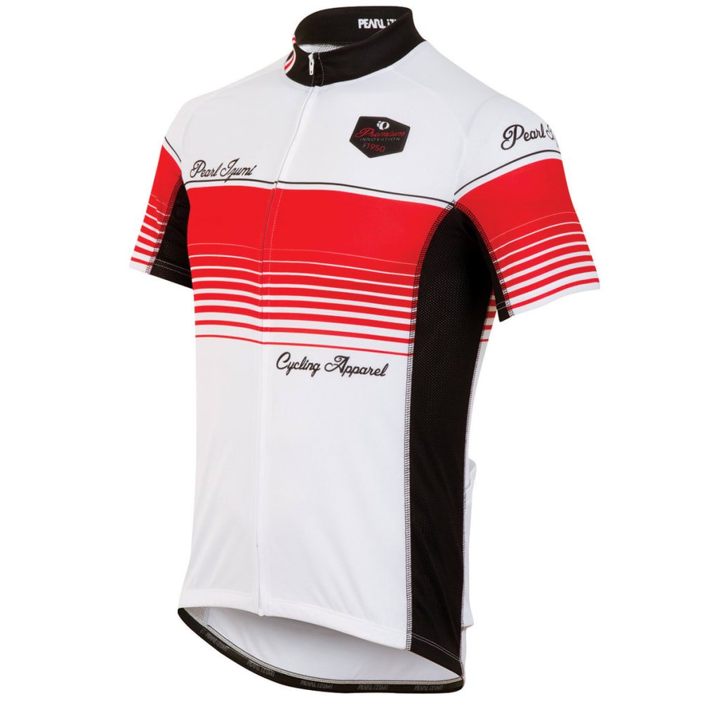 PEARL IZUMI Men's Elite LTD Cycling Jersey - WHITE/RED