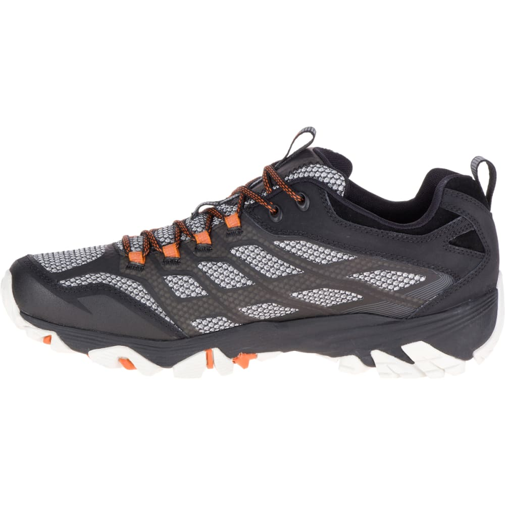 MERRELL Men's Moab FST Waterproof Wide Sneaker, Black - BLACK