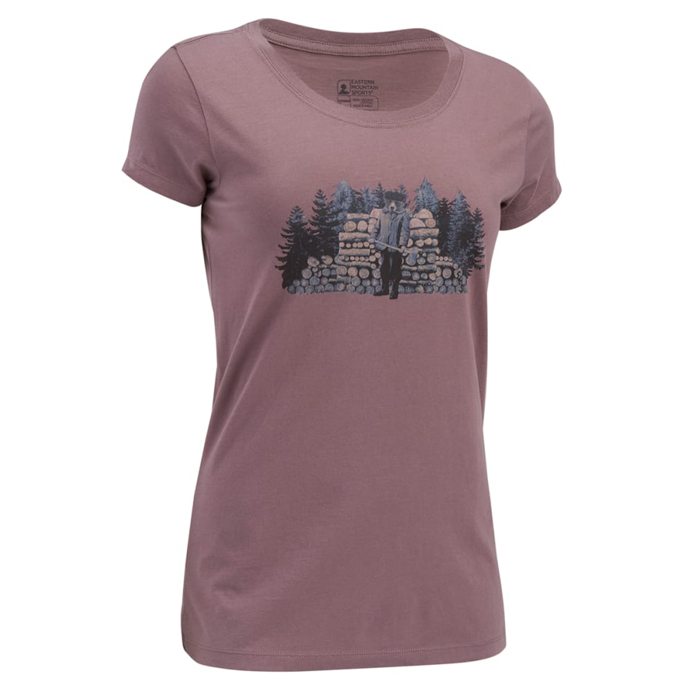 EMS Women's Lumberbear Jack Graphic Tee - SPARROW
