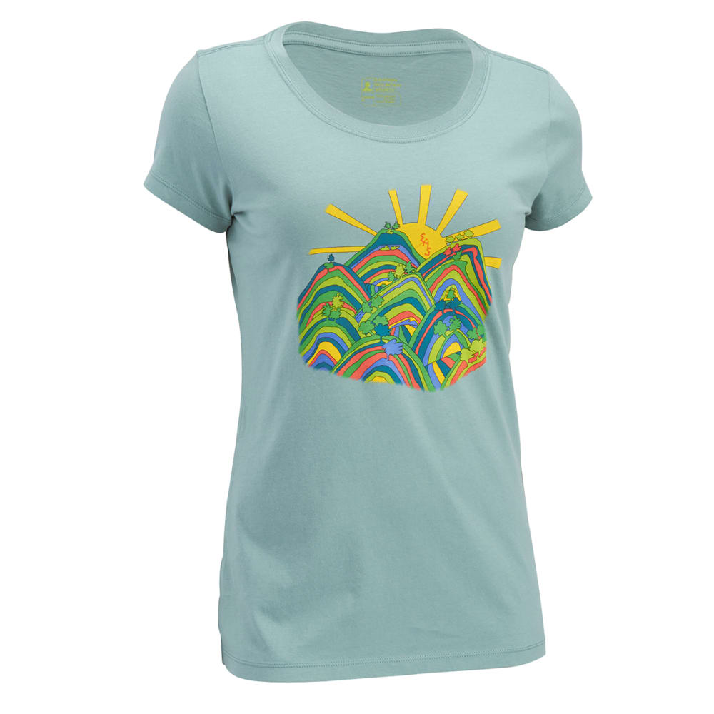 EMS Women's Throwback '78 Graphic Tee - OIL BLUE