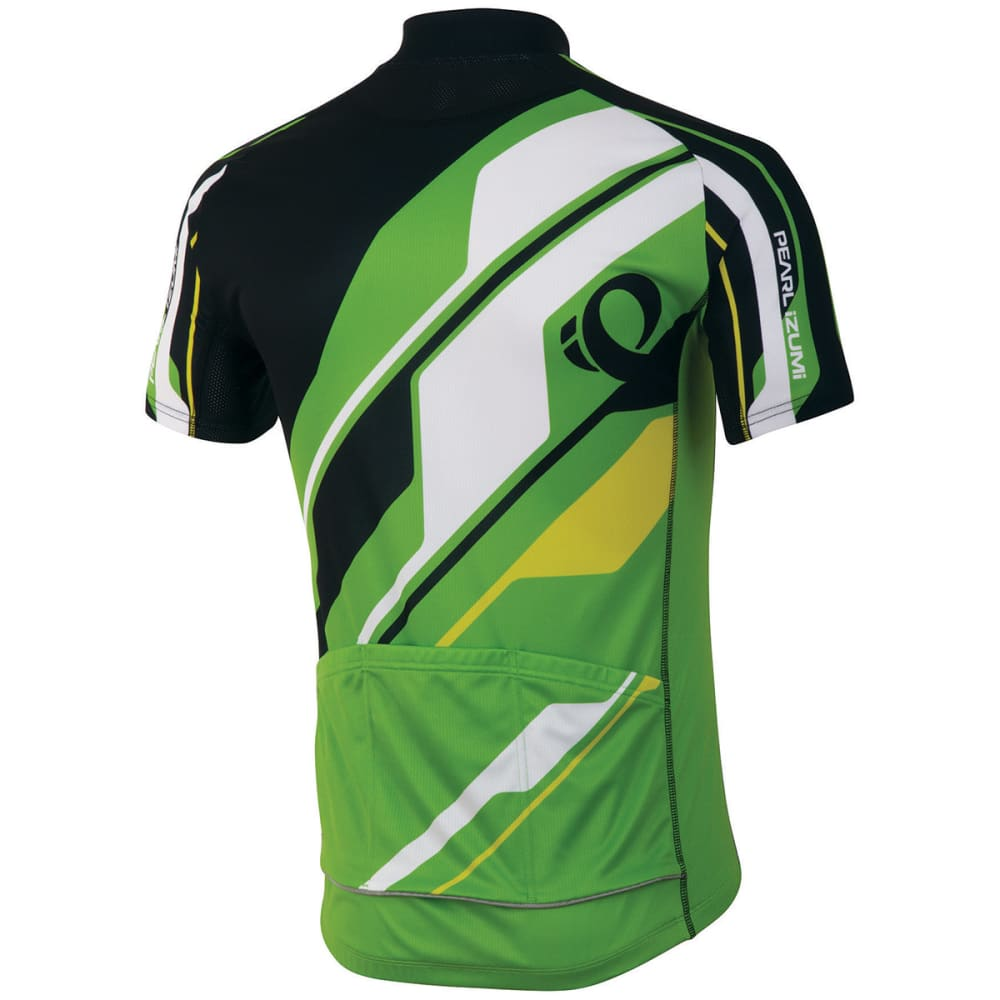 PEARL IZUMI Men's ELITE LTD Cycling Jersey, Green Flash - GREEN FLASH