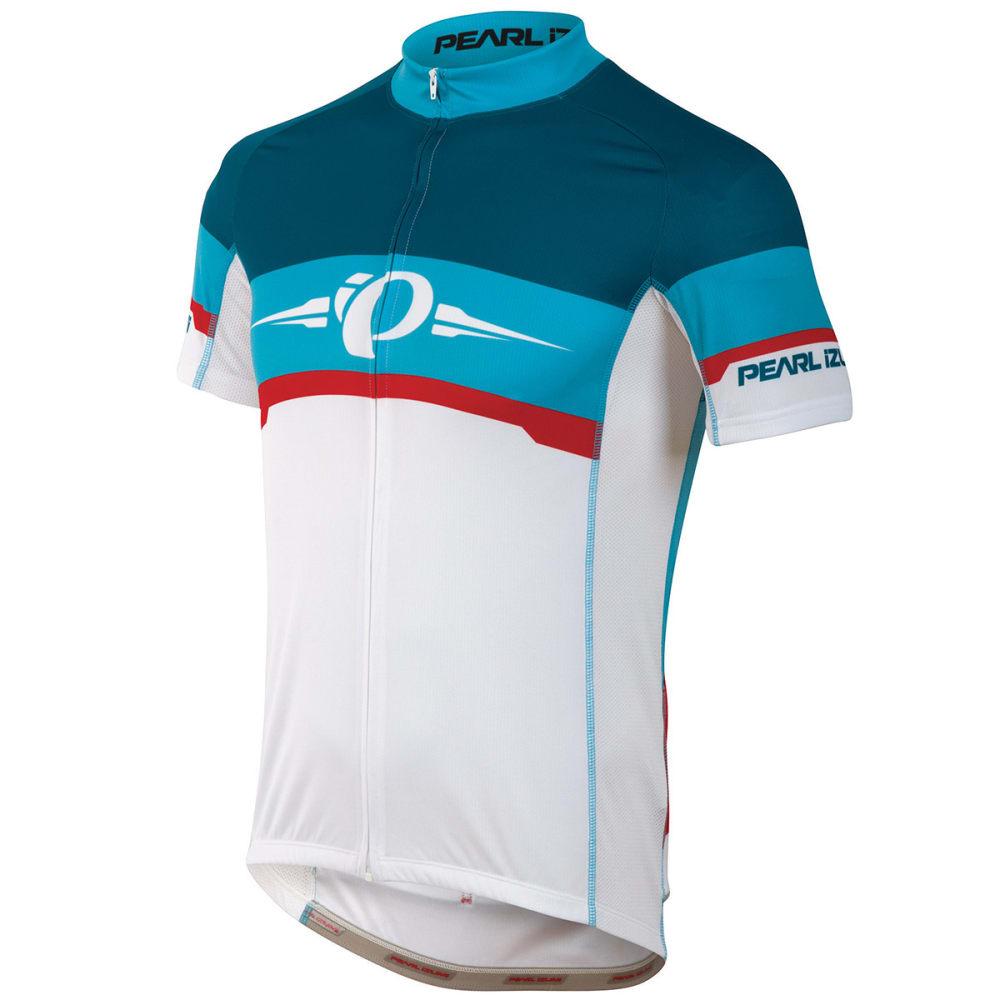 PEARL IZUMI Men's ELITE LTD Cycling Jersey, Blue Atoll S