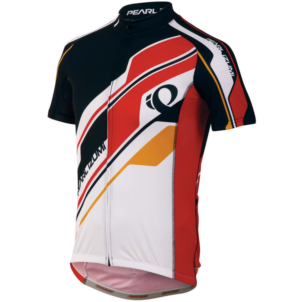 PEARL IZUMI Men's ELITE LTD Cycling Jersey - TRUE RED
