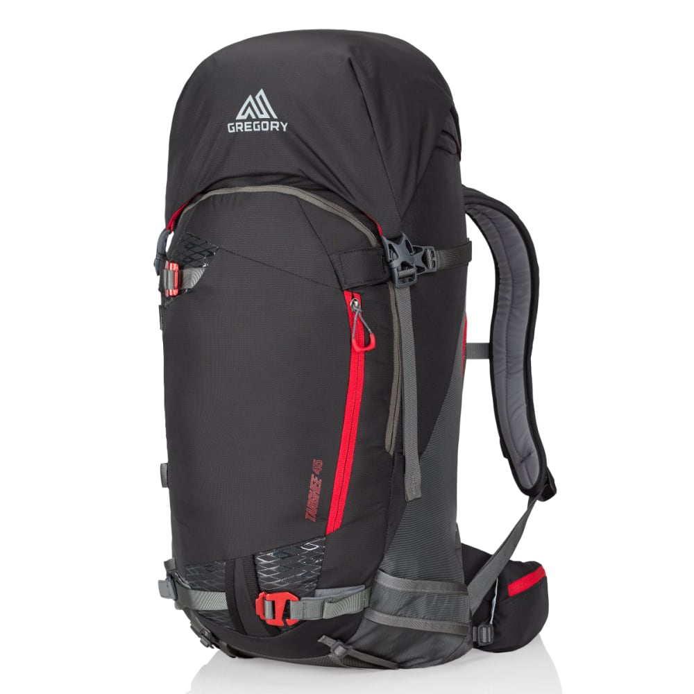 GREGORY Targhee 45 Backpack - PATROL BLACK