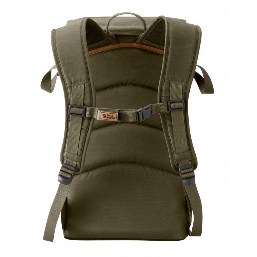 FJALLRAVEN Stubben backpack - DARK OLIVE