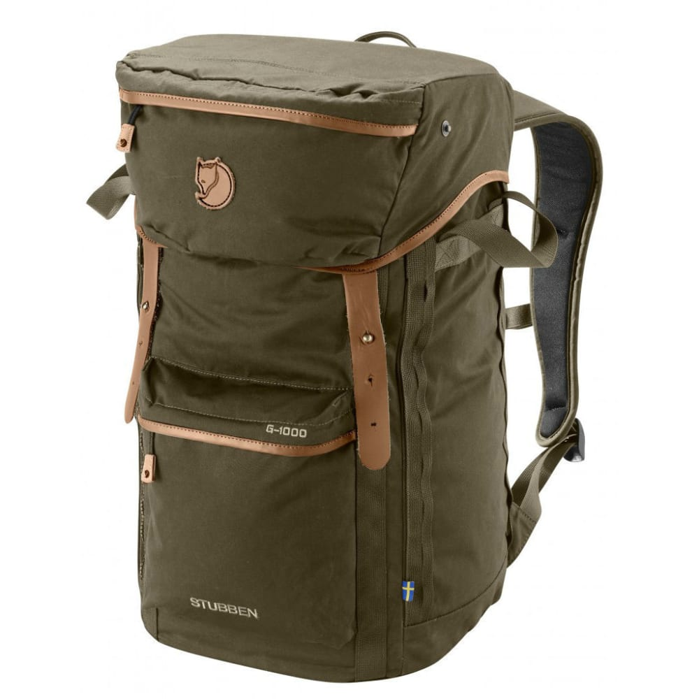 FJALLRAVEN Stubben backpack  - DARK OLIVE