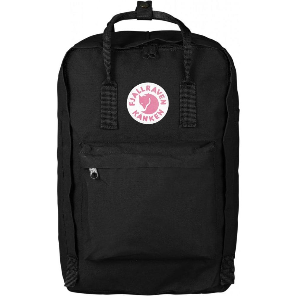 """FJALLRAVEN Kanken 17"""" Laptop Backpack - BLACK"""