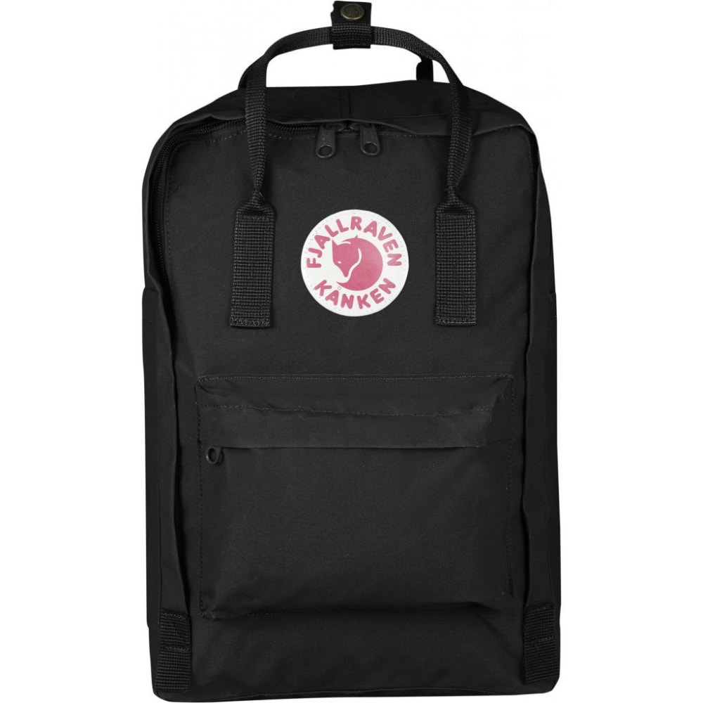"""FJALLRAVEN Kanken 15"""" Laptop Backpack - BLACK"""