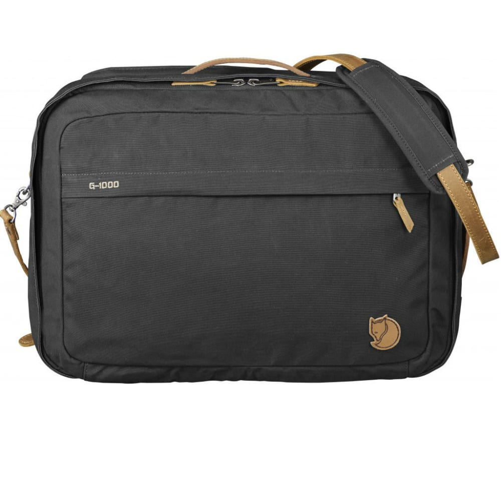 FJALLRAVEN Briefpack No. 1 - DARK GREY