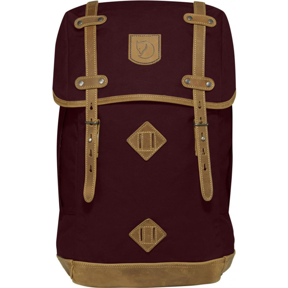 FJALLRAVEN Rucksack No.21 Large backpack  - DK GARNET