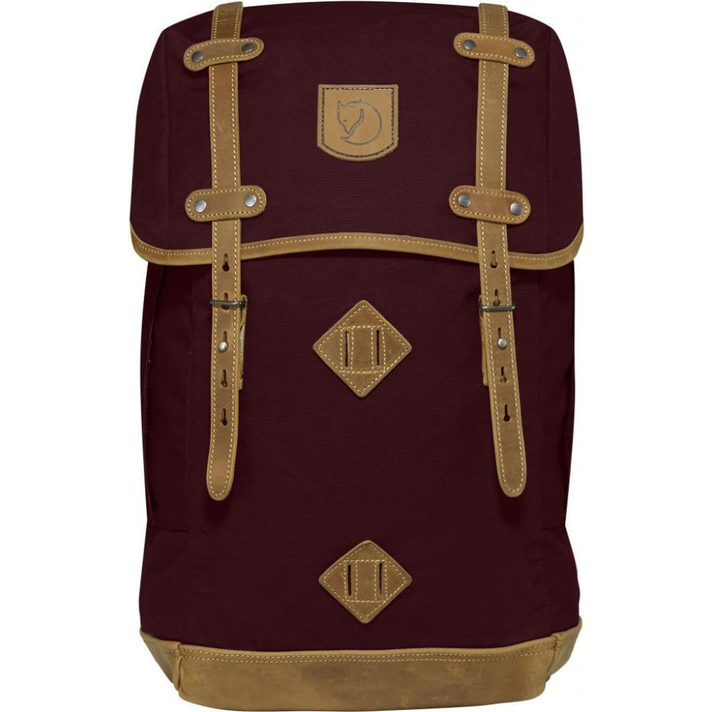 FJALLRAVEN Rucksack No.21 Large backpack - DK GARNET