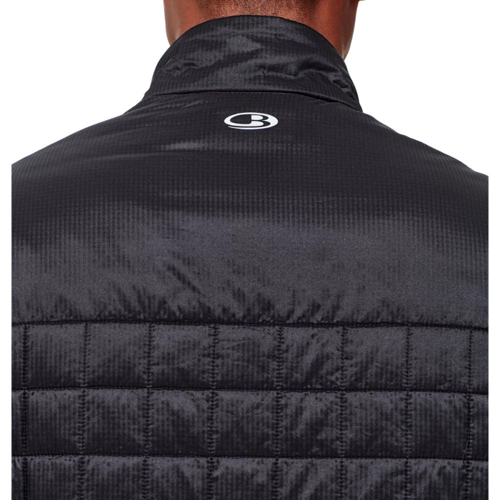 ICEBREAKER Men's Helix Vest - BLACK/BLACK/BLACK