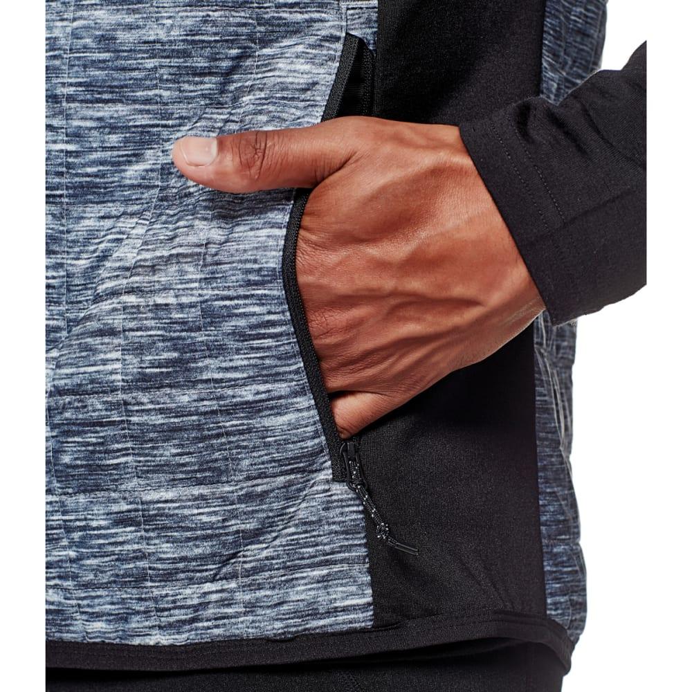 ICEBREAKER Men's Helix Vest - GREY HTHR/BLK/BLK