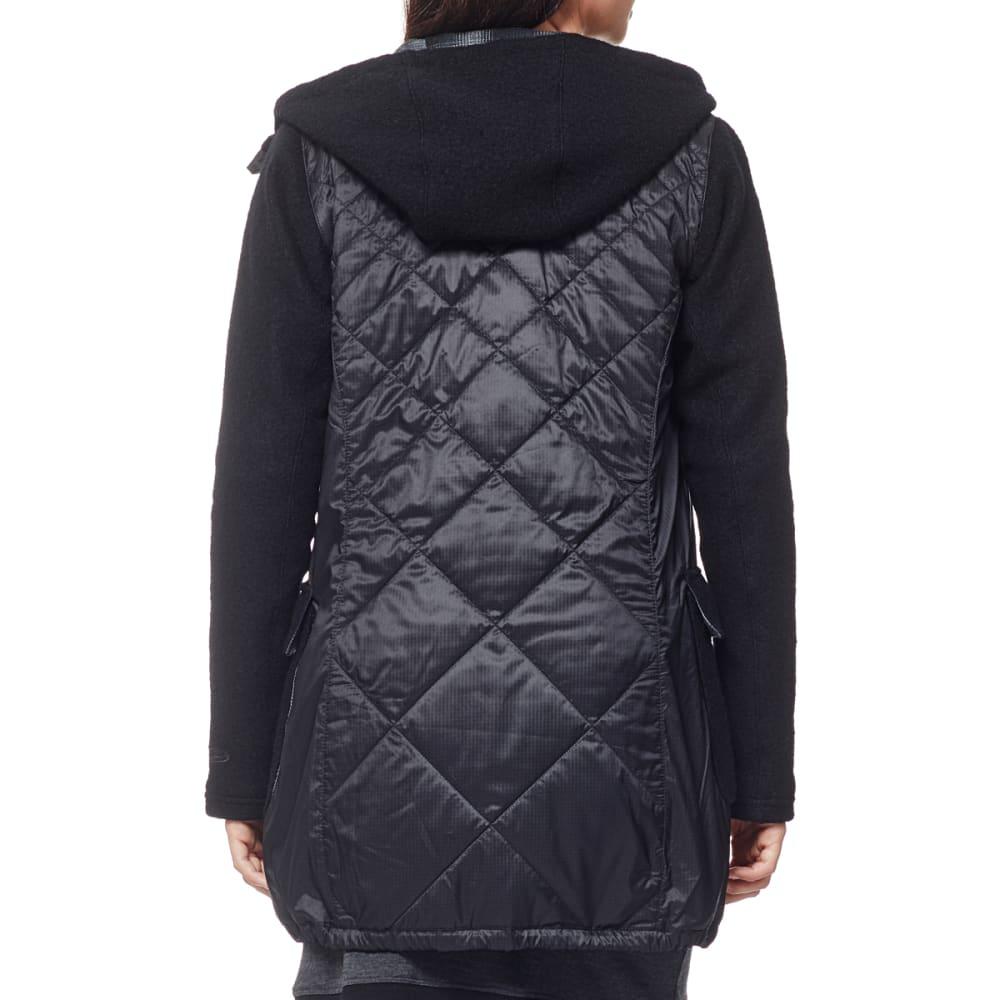 ICEBREAKER Women's Nomad Jacket - BLACK/BLACK/BLACK