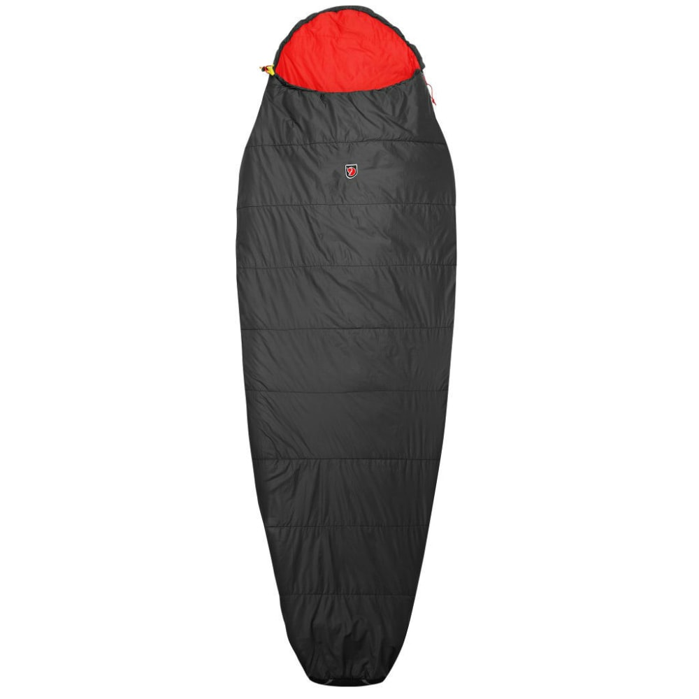 FJALLRAVEN Funas Lite Sleeping Bag, Long - DARK GREY