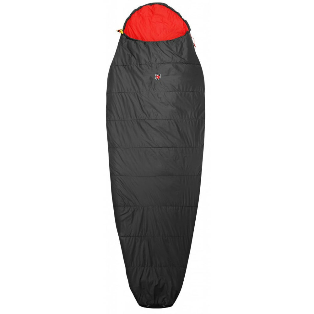 FJALLRAVEN Funas Lite Sleeping Bag, Regular - DARK GREY